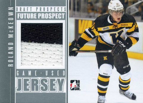 2013-14 In The Game – Draft Prospects – Future Prospect – Jersey # FPM-09 Roland McKeown
