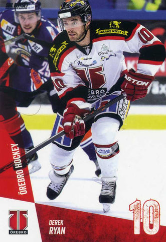 2014-15 Swedish Elite League  # 294 Derek Ryan