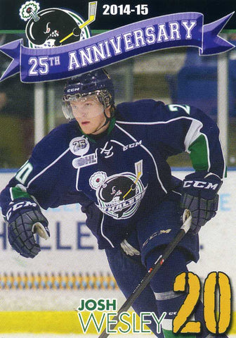 2014-15 Plymouth Whalers Meijer  [OHL]  Josh Wesley