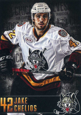 2014-15 Chicago Wolves - Vienna Beef [AHL] - Jake Chelios
