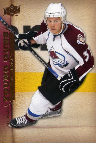 2007-08 Upper Deck - Young Guns # 465 T.J. Hensick