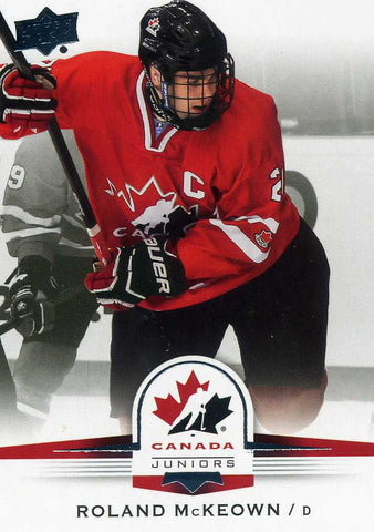 2014-15 Upper Deck Team Canada # 36 Roland McKeown