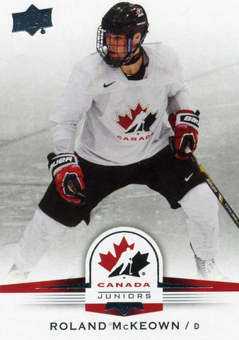 2014-15 Upper Deck Team Canada Short Print # 134 Roland McKeown
