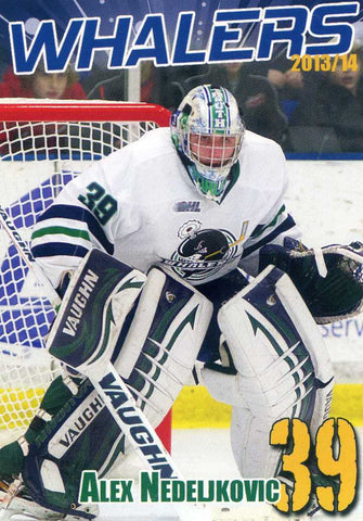 2013-14 Plymouth Whalers - BD's Mongolian Grill [OHL]  Alex Nedeljkovic