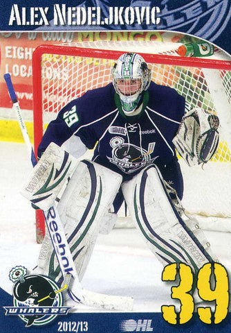 2012-13 Plymouth Whalers - BD's Mongolian Grill [OHL]  Alex Nedeljkovic