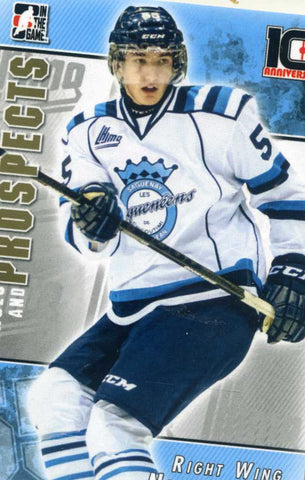 2013-14 In The Game – Heroes & Prospects - 10th Anniversary # T-08 Nicolas Roy