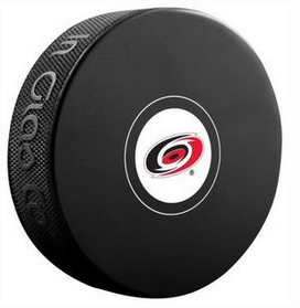 Carolina Hurricanes Team Logo Autograph Model Hockey Puck