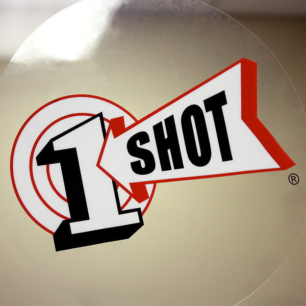1 Shot Round Window Cling