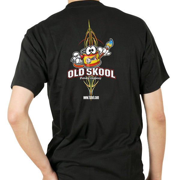 "1 Shot ""Old Skool"" Tee (Back)"