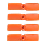 2 Pairs Gemfan 3030 BULLNOSE ORANGE Nylon CW/CCW Propeller For Mini Quadcopter Multirotor