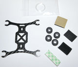 Phoenix Flight Gear 110mm Carbon Fiber Micro-H Frame 7mm V2 Motor Edition