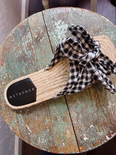 Load image into Gallery viewer, GINGHAM BOW ESPADRILLES