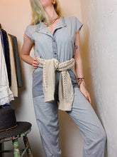 Load image into Gallery viewer, VINTAGE COTTON JUMPSUIT