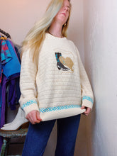 Load image into Gallery viewer, VINTAGE COTTON COWGIRL PATCH SWEATER