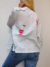 Load image into Gallery viewer, VINTAGE HAND PAINTED COTTON JACKET/BLOUSE