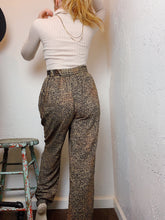 Load image into Gallery viewer, VINTAGE PRINT HIGH WAIST PANTS