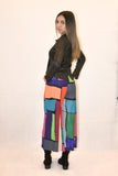 Color blocked pants