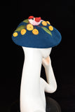Wool Beret with Bird