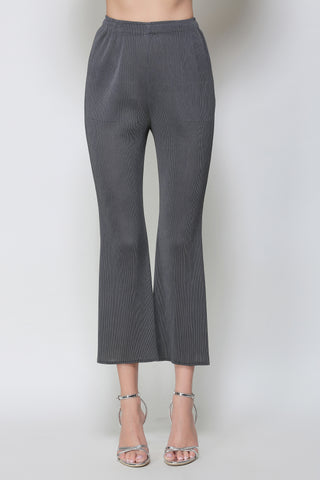 Micro pleat trouser