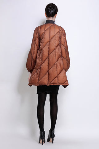 Long sleeve down jacket