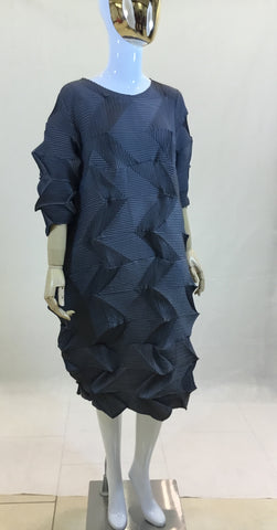Thick Pleated Origami fold Dress