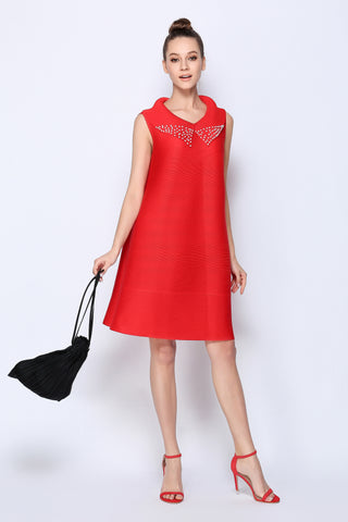 Bell Dress with Collar