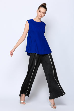 Pleated Trouser with line