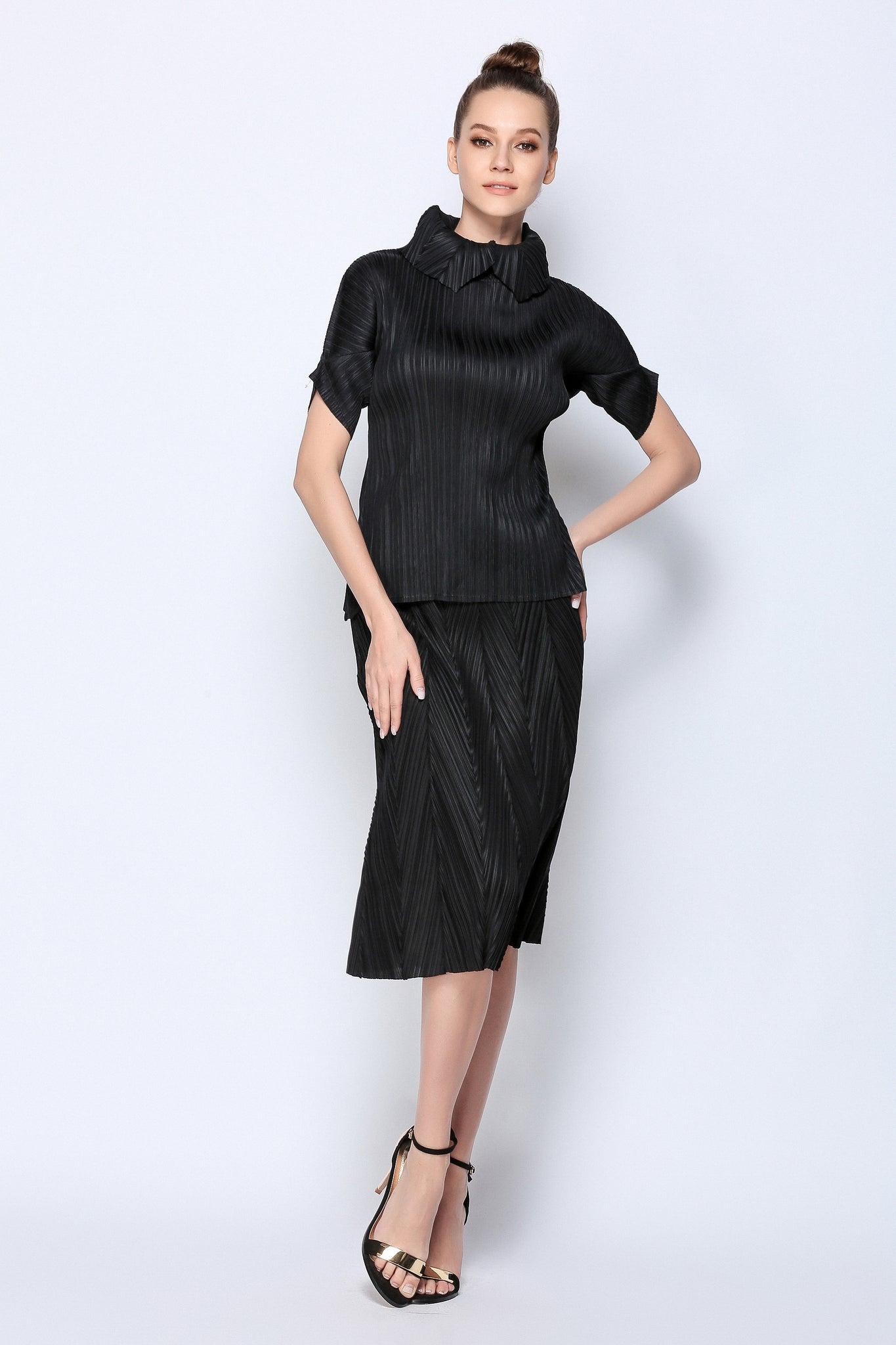Pleated re-design Blouse