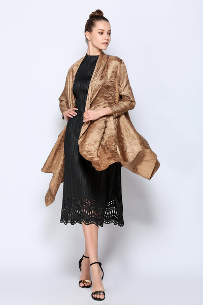 Micro pleated Spring Jacket
