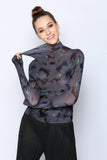 Long Sleeve Origami spring top