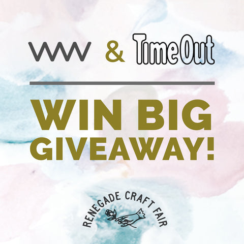 Win BIG giveway from Time Out!