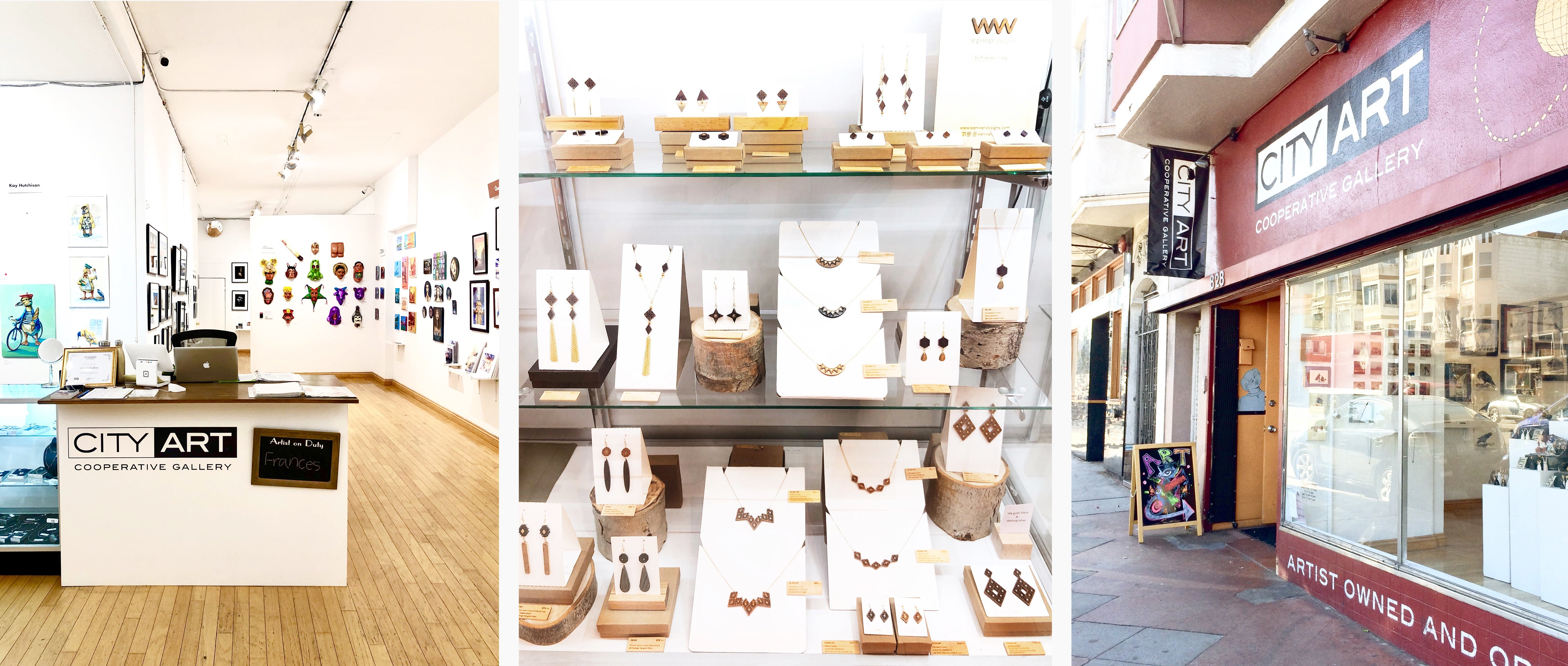WENWEN Designs at City Art Gallery, Mission SF