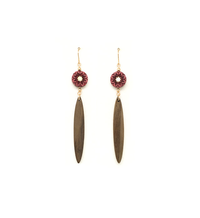 Kohav Dangle earrings - WENWEN designs
