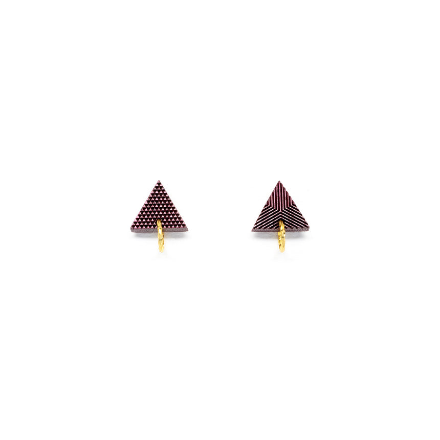 Triangle & Ring Studs