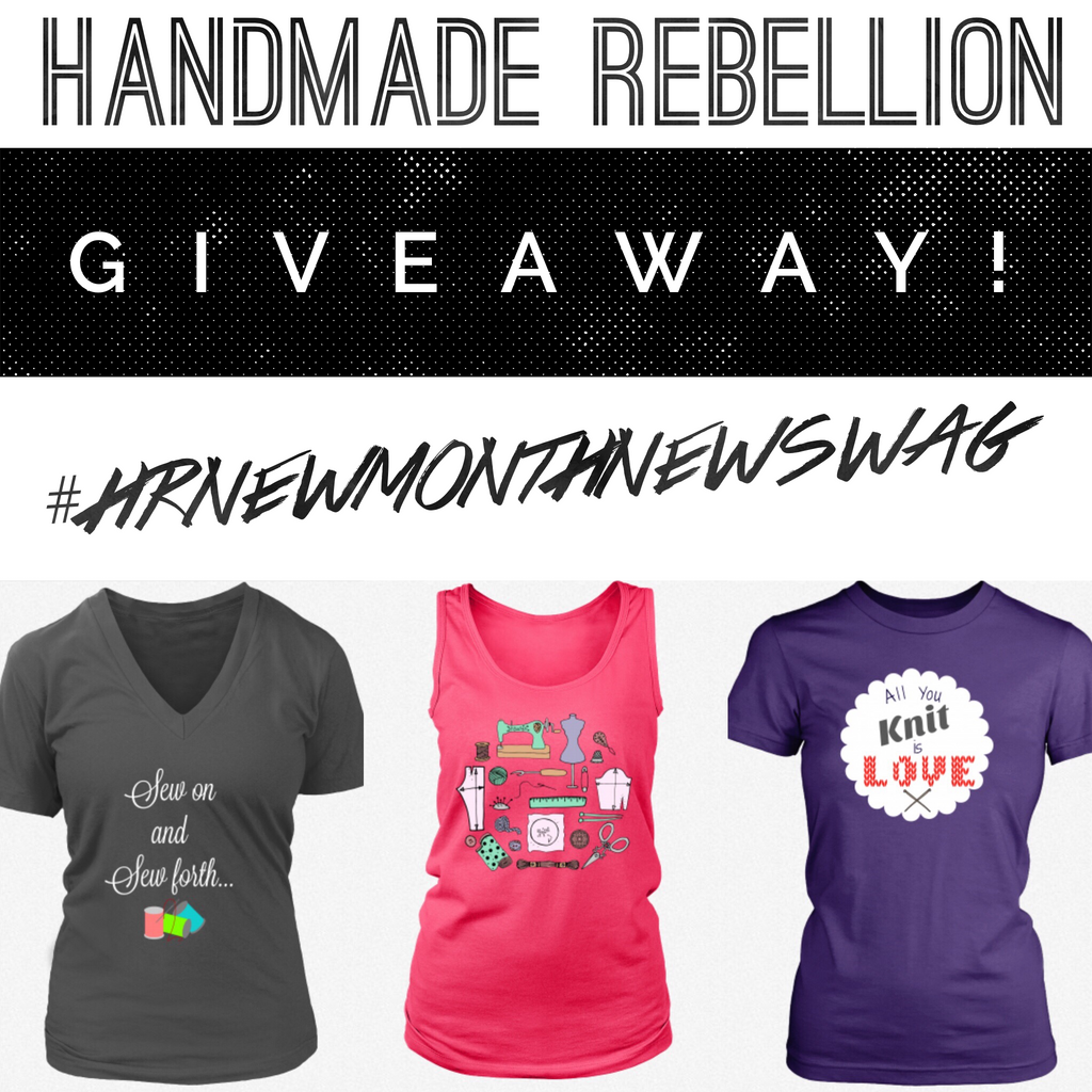 New Month, New Designs, New Giveaway!