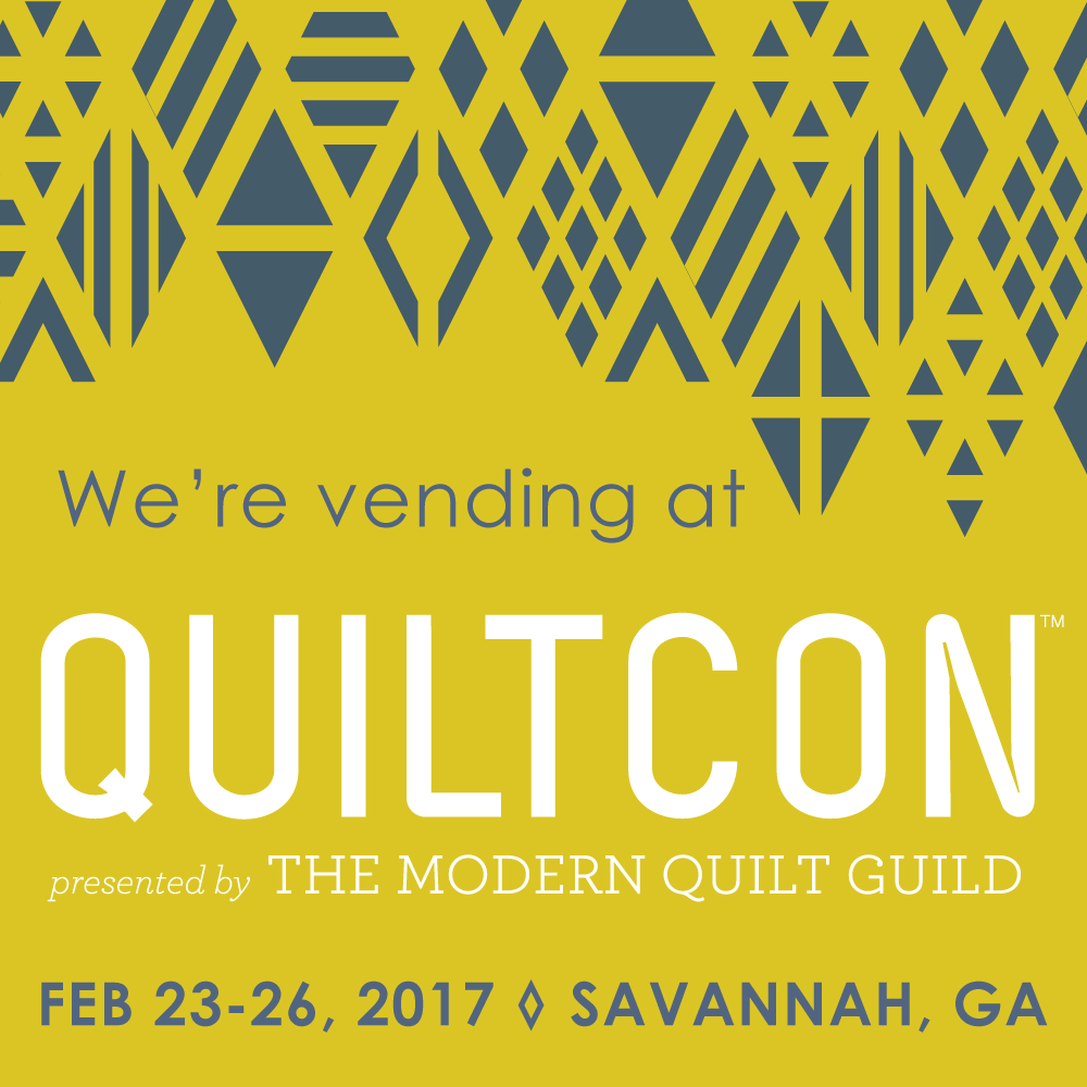 Get ready! We'll be at Quiltcon 2017