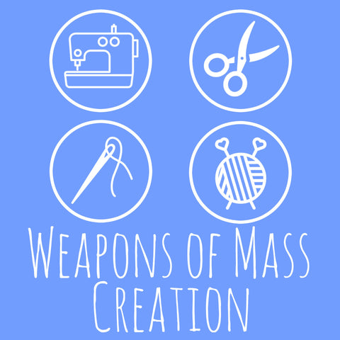 SALE! Weapons of Mass Creation Women's Crew Neck
