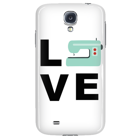 LOVE (Sewing Machine) - Phone Case - Handmade Rebellion
