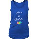 Sew On and Sew Forth - Women's Tank (Click for More Colors) - Handmade Rebellion