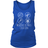 Weapons of Mass Creation - Women's Tank (Click for More Colors) - Handmade Rebellion