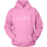 I Heart Sewing - Hoodie (Click for More Colors) - Handmade Rebellion
