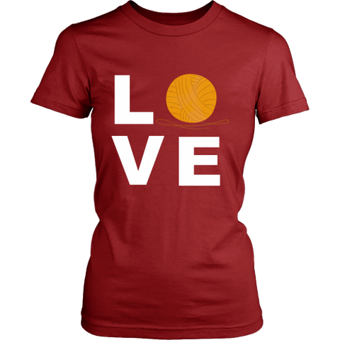 LOVE (Yarn Ball) - Crew (Click for More Colors) - Handmade Rebellion