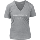 Made By Us - V-Neck (Click for More Colors) - Handmade Rebellion