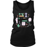 Sewing Circle - Women's Tank (Click for More Colors) - Handmade Rebellion