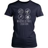 Weapons of Mass Creation - Women's Crew (Click for More Colors) - Handmade Rebellion