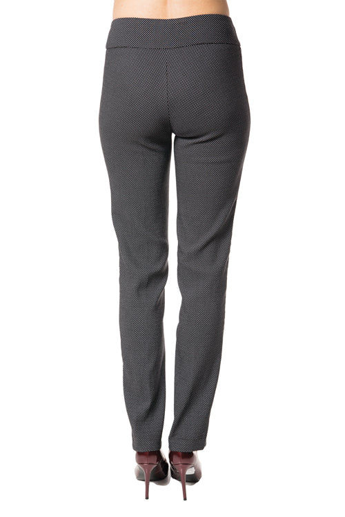 Slim Leg Polka Dot Slimming Pant