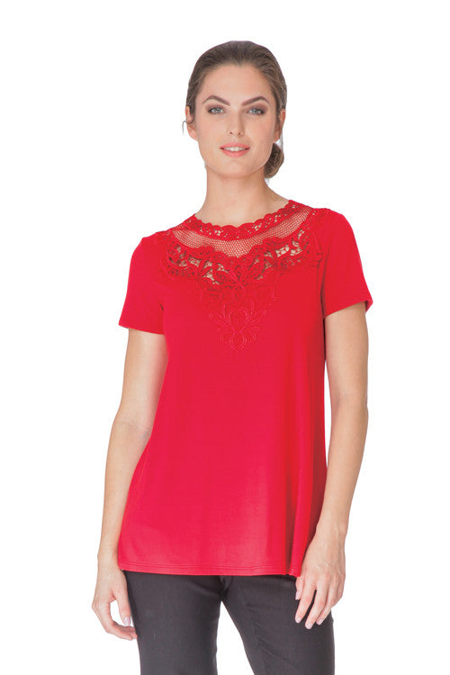 Teri - 9755 - Long & Flared  Top