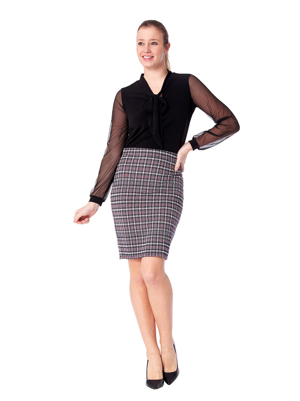 Argenta Plaid Skirt