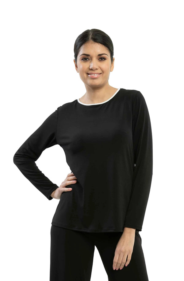 Dallas - 7620 - Reversible Long Sleeve Top