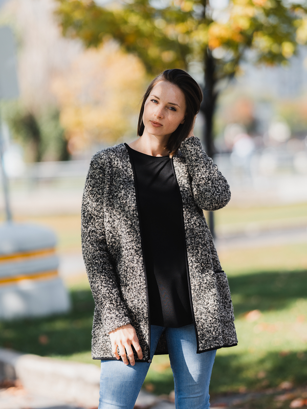 Lene Cardigan with Patch Pockets